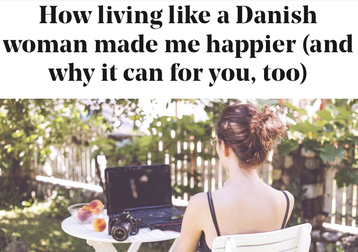 How living like a Danish woman made me happier (and why it can for you, too) Stylist 22nd March 2016 Helen Russell