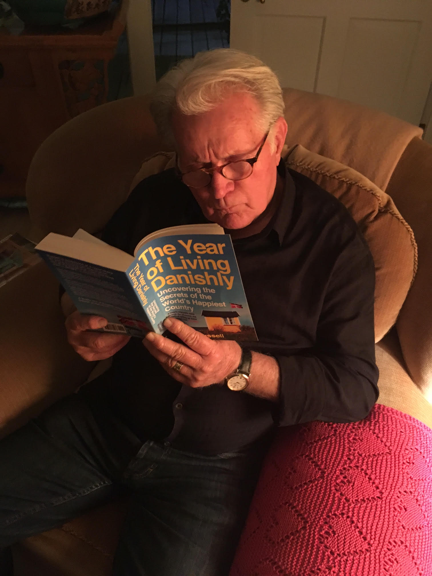 Martin Sheen reading The Year ofLiving Danishly