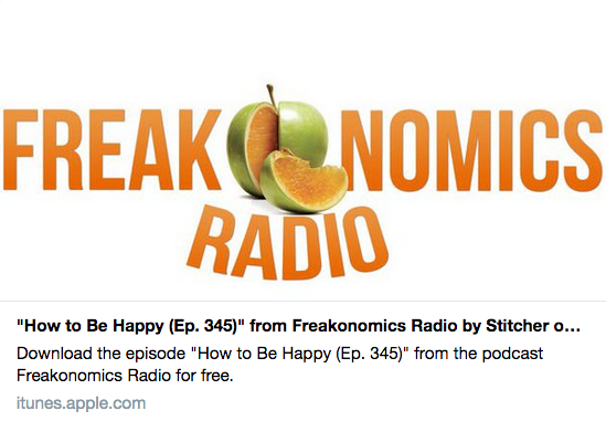 How to Be Happy (Ep. 345) Freakonomics Radio featuring Helen Russell author of The Year of Living Danishly