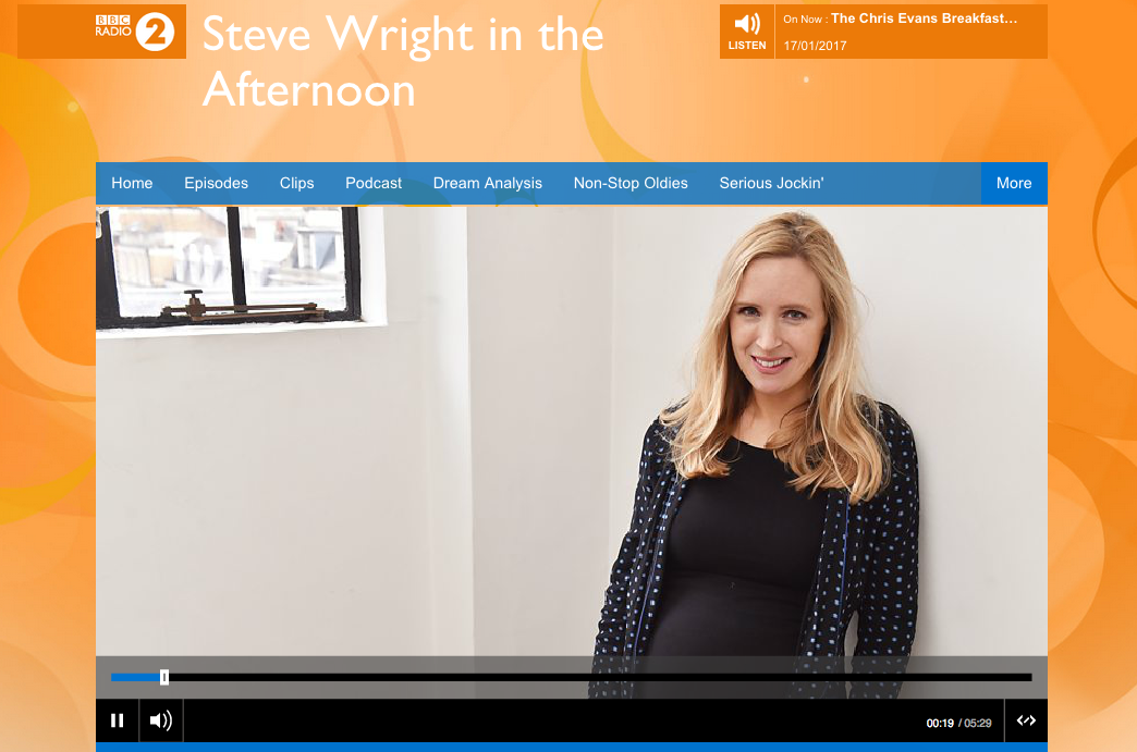 Leap Year on Steve Wright in the Afternoon on BBC Radio 2