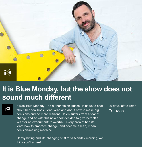 Leap Year on Shaun Keaveny's Breakfast Show on BBC Radio 6 Music