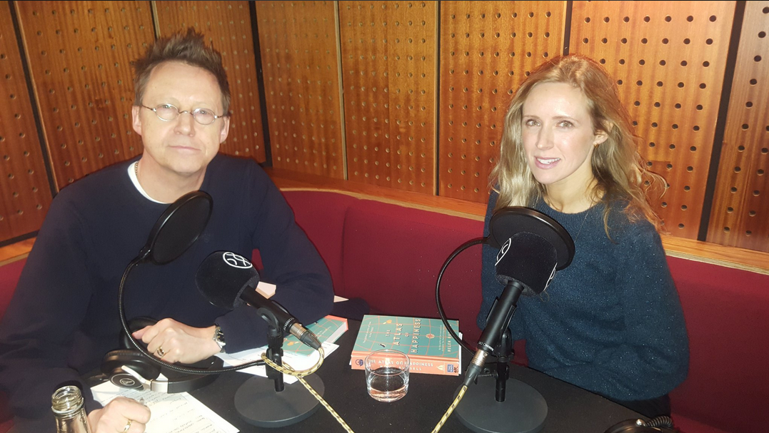 Simon Mayo's Books of the Year Podcast featuring The Atlas of Happiness by Helen Russell